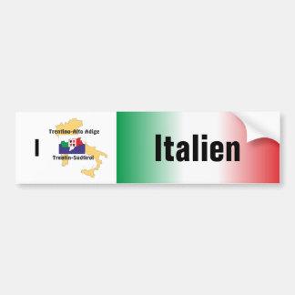Italy - Italia autosticker Bumper Sticker