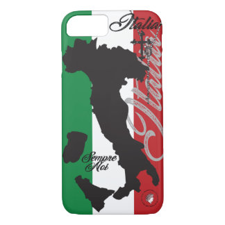 italy italia italian cross rosary beed boot flag iPhone 8/7 case