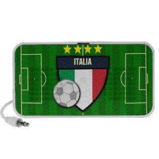 Italy Italia Soccer Flag Football Laptop Speakers