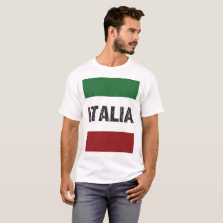 italy italian flag fun family love food life kids T-Shirt