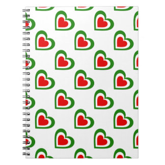 Italy/Italian flag-inspired Personnalised Notebook