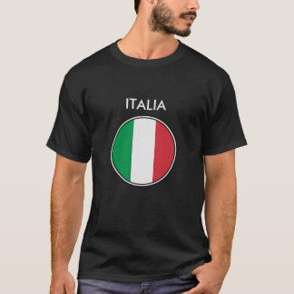 Italy - Italian Flag T-Shirt. T-Shirt