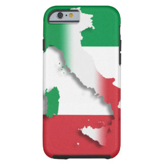 Italy Italian Flag Tough iPhone 6 Case
