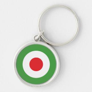 Italy Italian Italia Flag Tricolore Design Keychain