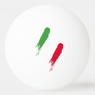 Italy Italian Italia Flag Tricolore Design Ping Pong Ball