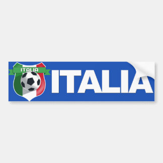 Italy Italian Team Bumper Sticker