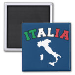 Italy Land Refrigerator Magnets