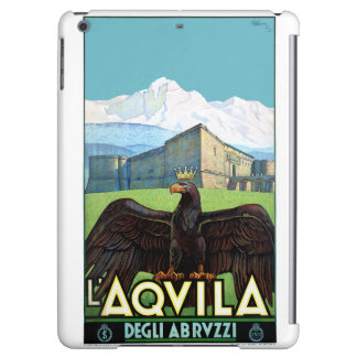 Italy L'Aquila Restored Vintage Travel Poster Case For iPad Air