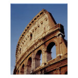 Italy,Lazio,Rome,The Colosseum at sunset Poster