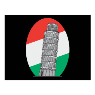 Italy Leaning Tower of Pisa Post Card