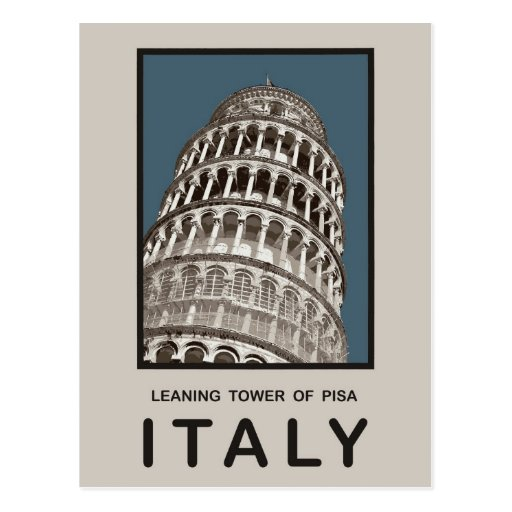 Italy Leaning Tower of Pisa Post Cards