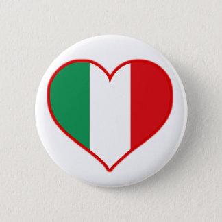 Italy Love 2 Inch Round Button