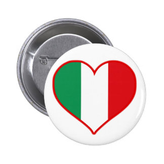 Italy Love 2 Inch Round Button