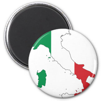 Italy_Magnet 2 Inch Round Magnet