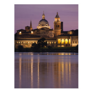 Italy, Mantua Province, Mantua. Town view and 2 Postcard