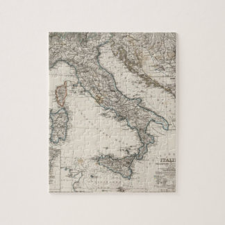 Italy Map by Stieler Jigsaw Puzzle