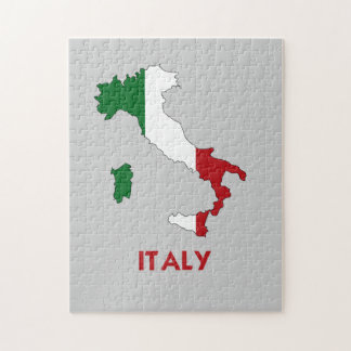 ITALY MAP JIGSAW PUZZLE