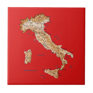 Italy Map Tile
