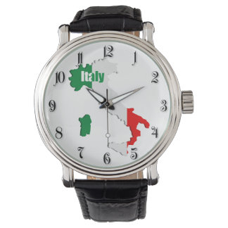 Italy map watch