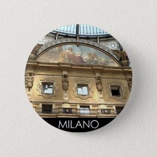 ITALY MILAN 2 INCH ROUND BUTTON