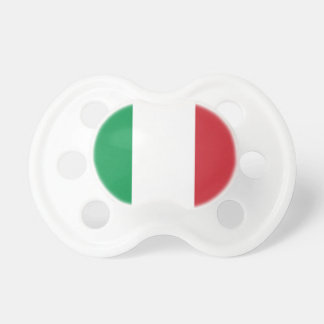 Italy National World Flag Pacifier