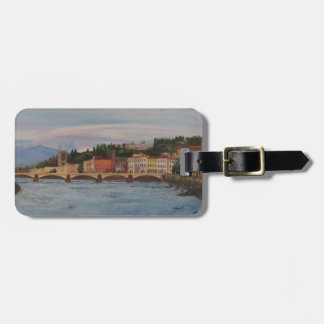 Italy Painting Luggage Tag