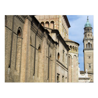 Italy, Parma, Tower of San Giovanni Church Postcard