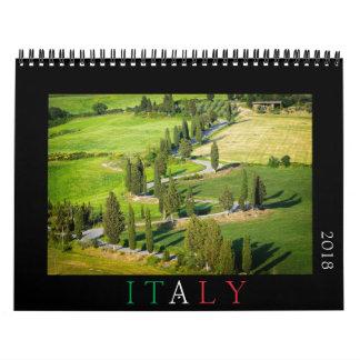 Italy photography calendar 2018