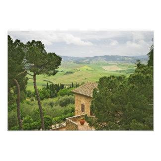 Italy, Pienza. View of the Tuscany Photo Print
