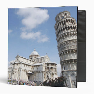 Italy, Pisa. Cathedral, baptistry and Leaning 3 Ring Binder