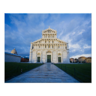 Italy, Pisa, Duomo and Field of miracles, Pisa, Poster