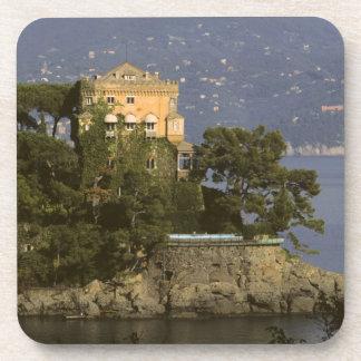 Italy, Portofino. Scenic life on the Beverage Coaster