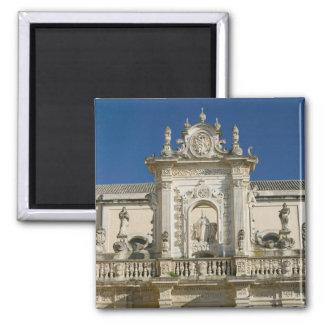 Italy, Puglia, Lecce, Piazza del Duomo, Palazzo Square Magnet