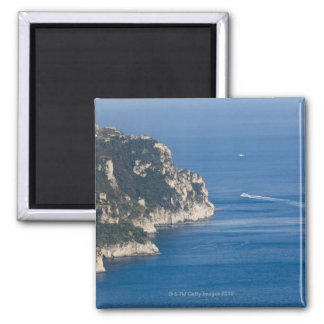 Italy, Ravello, Palazzo Sasso, Elevated view of Square Magnet