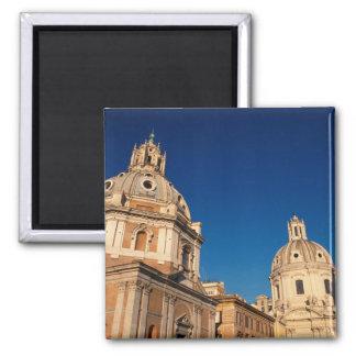 Italy, Rome, Santa Maria di Loreto church and Magnet