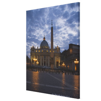 Italy, Rome, Vatican City, St. Peter's Basilica Gallery Wrapped Canvas