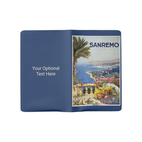 Italy Sanremo custom notebook