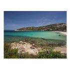 Italy, Sardinia, Baja Sardinia. Resort beach. Postcard