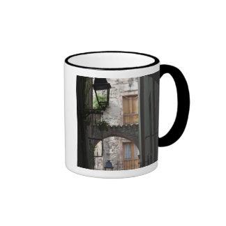 Italy, Sardinia, Bosa. Street detail. Coffee Mug