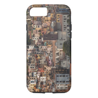Italy, Sardinia, Bosa. Town view with Castello iPhone 7 Case