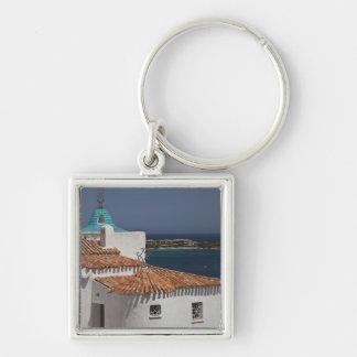 Italy, Sardinia, Porto Cervo. Chiesa di Stella Keychain