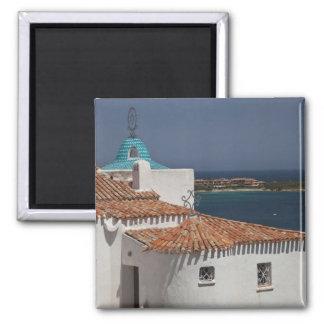 Italy, Sardinia, Porto Cervo. Chiesa di Stella Magnet