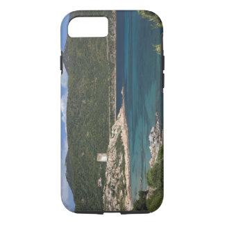 Italy, Sardinia, Teulada. Spanish tower. iPhone 7 Case