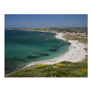 Italy, Sardinia, Tharros. View from the Postcard