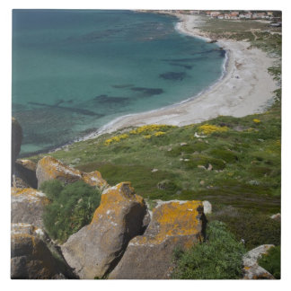 Italy, Sardinia, Tharros. View from the Spanish Tile
