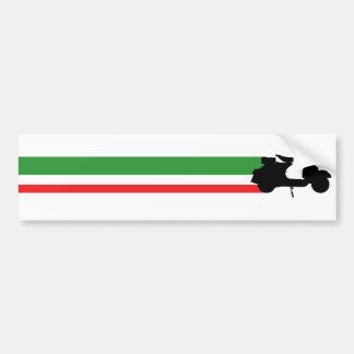 Italy Scooter streaks Bumper Sticker
