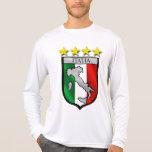 italy shield Italy flag italia map Tee Shirt