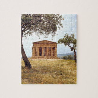 Italy, Sicily, Agrigento. The ruins of the 2 Jigsaw Puzzle