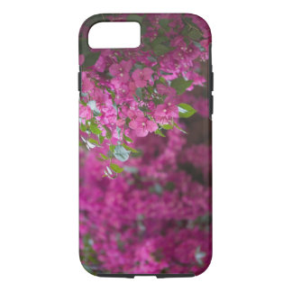 Italy, Sicily, Cefalu, Flowered Courtyard by iPhone 7 Case