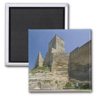 Italy, Sicily, Enna, Calascibetta, Castello di Magnet